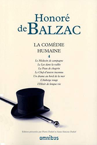 la comédie humaine t.4: Balzac Honore de