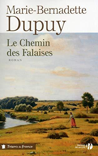 9782258094895: Le chemin des falaises (Trésors de France)