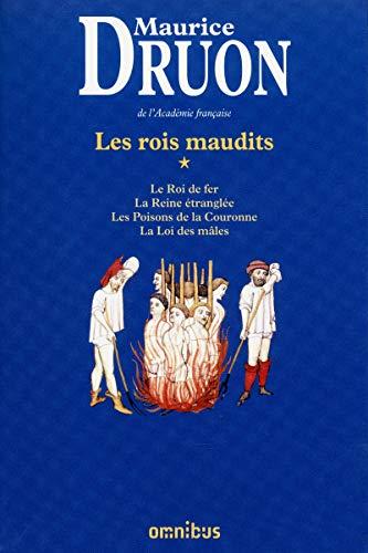 9782258100589: Les Rois maudits, Tome 1 Le Roi de fer / La Reine étranglée ; Les Poisons de la Couronne ; La Loi des mâles