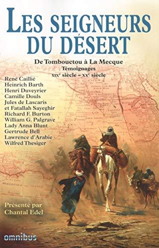 9782258106154: Les seigneurs du désert