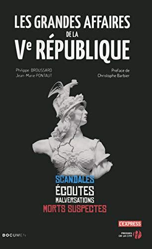 9782258116344: Les Grandes Affaires de La Ve Republique (French Edition)