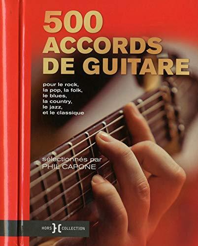 9782258134867: 500 accords de guitare