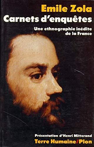 9782259001854: Carnets d'enquêtes : Une ethnologie inédite de la France