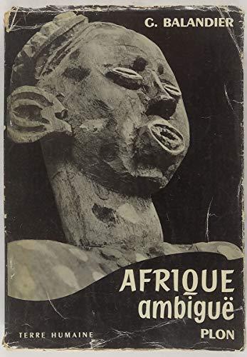 9782259002950: Afrique ambiguë