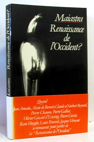 9782259004640: Maiastra: Renaissance de l'Occident? (French Edition)