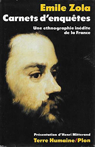 9782259015400: Carnets d'enqu�tes : une ethnographie in�dite de la France