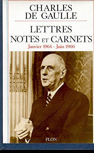 Lettres, notes et carnets: Gaulle, Charles de