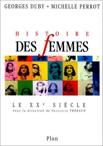 9782259023863: Histoire des femmes en Occident: le XXe si�cle