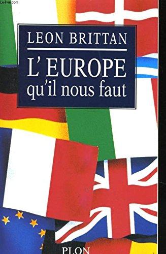 9782259180535: L'europe qu'il nous faut
