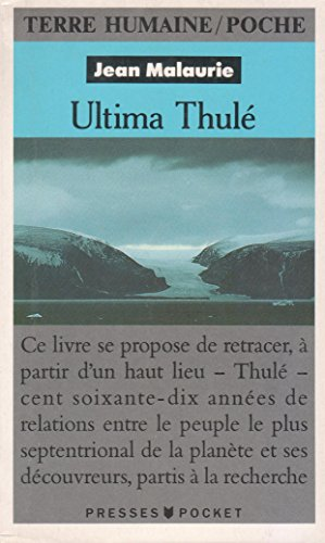9782259185646: Ultima Thulé