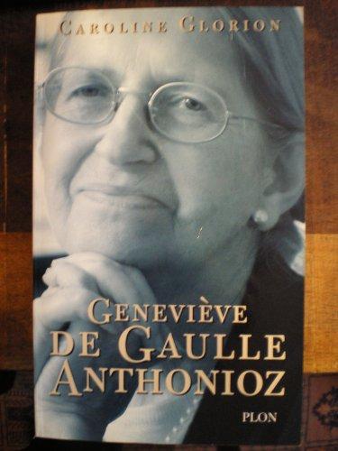 9782259186865: Geneviève de Gaulle Anthonioz : Résistances