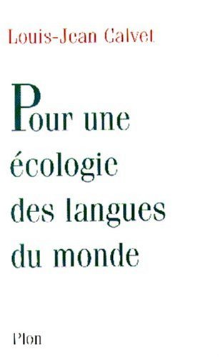 9782259189750: Pour une écologie des langues du monde