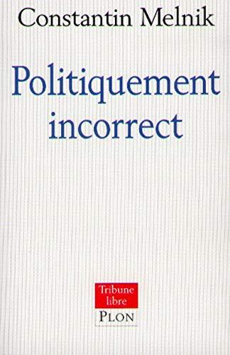 9782259190800: POLITIQUEMENT INCORRECT