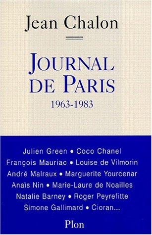 9782259192491: Journal de Paris : 1963-1983 (Hors Collection)