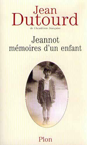 9782259193313: Jeannot, mémoires d un enfant