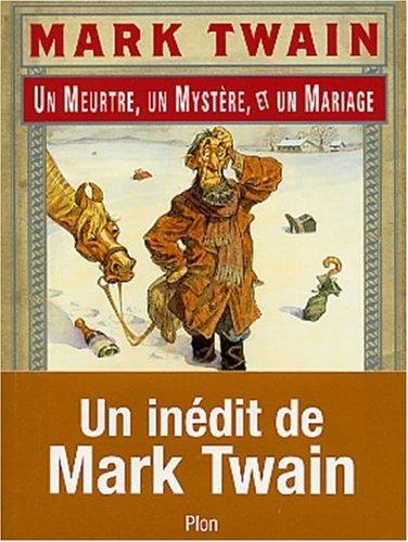 9782259195850: Un meurtre, un mystère et un mariage