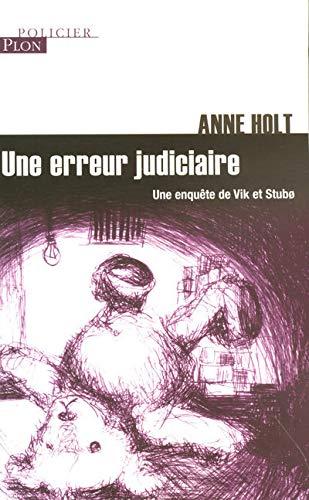9782259202565: ERREUR JUDICIAIRE