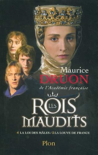 9782259202855: Les Rois maudits, Tome 2 : La loi des mâles ; La louve de France
