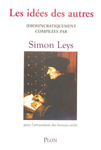 Les idées des autres (French Edition) (9782259203340) by [???]