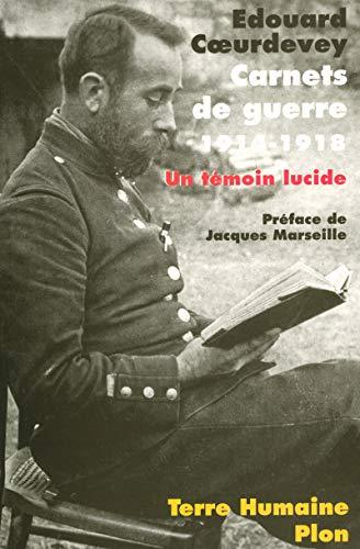 9782259206556: Carnets de guerre (1914-1918)