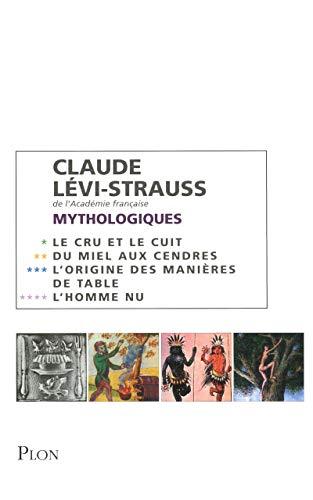 9782259210737: Coffret Claude Lévi-Strauss : Mythologiques en 4 volumes : Tome 1, Le cru et le cuit ; Tome 2, Du miel aux cendres ; Tome 3, L'origine des manières de table ; Tome 4, L'homme nu