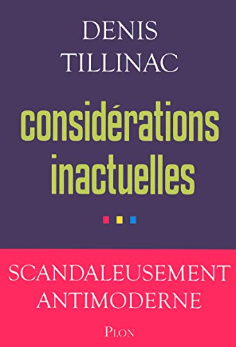 9782259217040: Considérations inactuelles (French Edition)