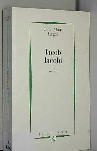 9782260000556: Jacob Jacobi - Prix Renaudot des Lycéens 1993