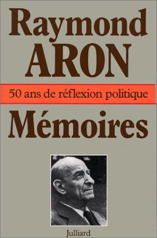 Mémoires (2260000797) by Raymond Aron