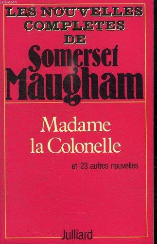 9782260002635: Madame la colonelle: et vingt-trois autres nouvelles
