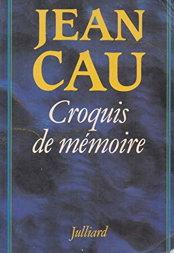 9782260004028: Croquis de memoire (French Edition)