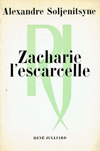 9782260007128: Zacharie l'Escarcelle.