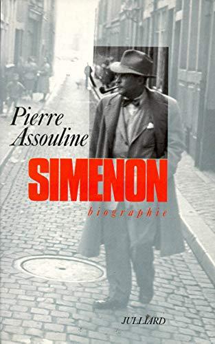 9782260009948: Simenon: Biographie (French Edition)