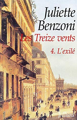 9782260011156: Les Treize Vents, Tome 4 : L'exilé