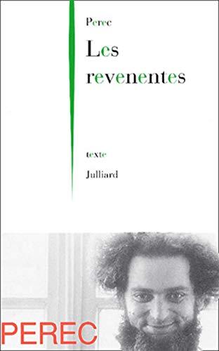 Les Revenentes (2260014720) by Perec, Georges