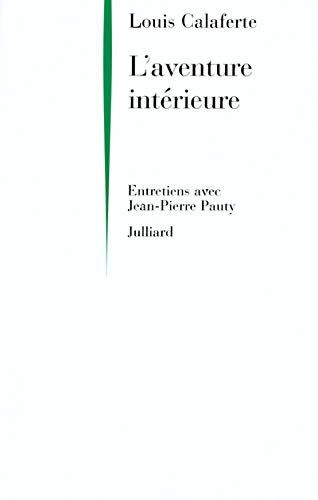 9782260016519: L'aventure interieure (French Edition)