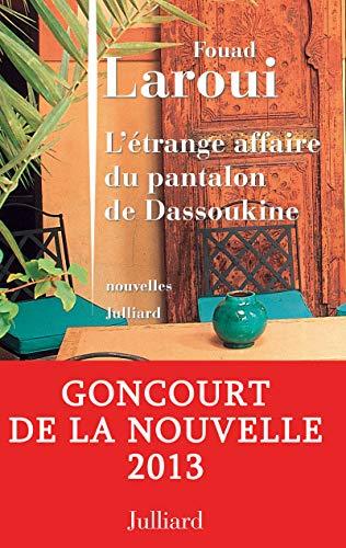 9782260016717: L'étrange affaire du pantalon de Dassoukine