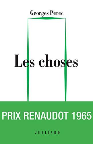 9782260029151: Les Choses - Édition du cinquantenaire