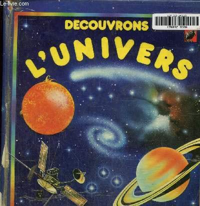 9782261011025: Decouvrons l'univers