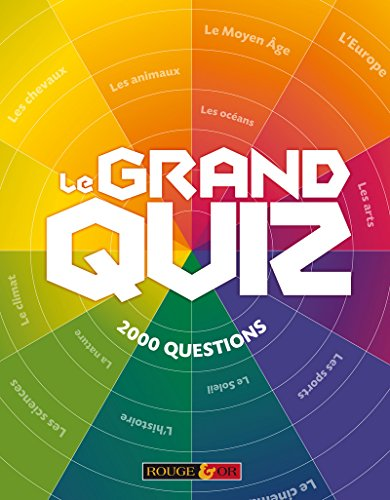 9782261404353: Le grand quiz Rouge & Or