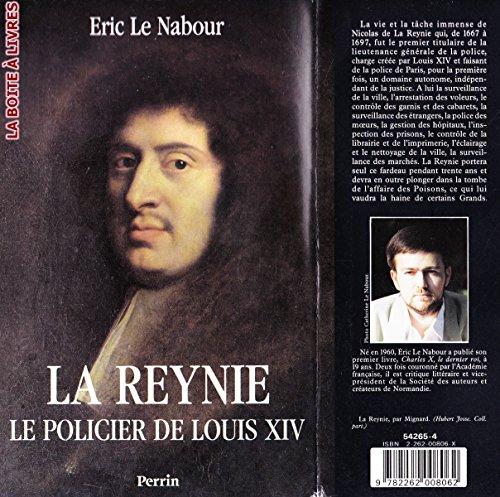 9782262008062: La Reynie: Le policier de Louis XIV (Collection