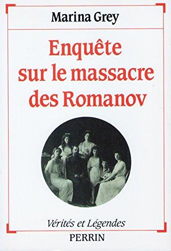 9782262008482: Enquete sur massacre romanov