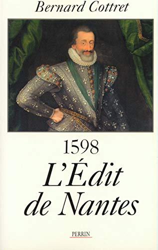 9782262012083: L'Edit de Nantes: 1598 : pour en finir avec les guerres de religion (French Edition)