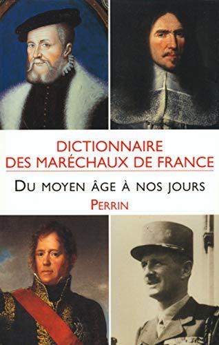 9782262017354: Dictionnaire des mar�chaux de France