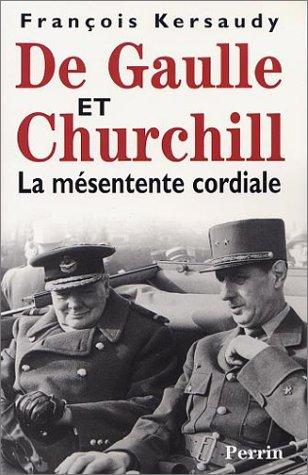9782262018382: De Gaulle et Churchill. la mésentente cordiale