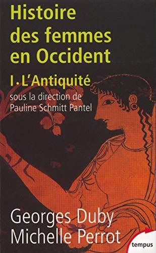 9782262018696: Histoire des femmes en Occident : Tome 1, L'Antiquité