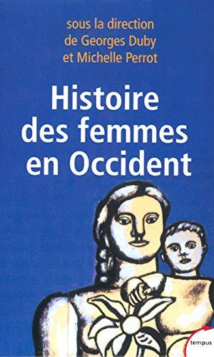 9782262018764: Histoire des femmes, coffret de 5 volumes