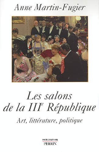9782262019570: Les salons de la IIIe République