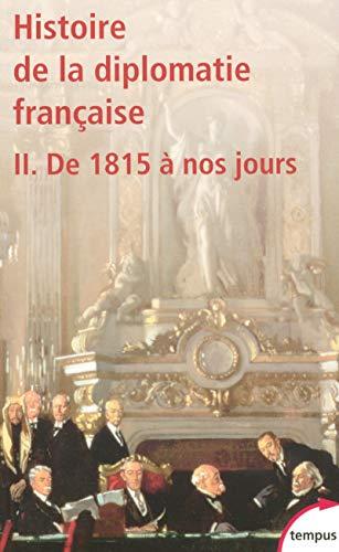 9782262027353: Histoire de la diplomatie française (French Edition)
