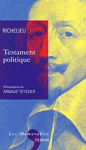 9782262035921: Testament politique