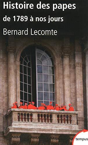 9782262039868: Histoire des papes : De 1789 à nos jours